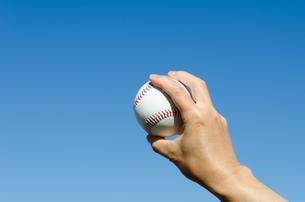 野球のボールの素材 [FYI00285536]