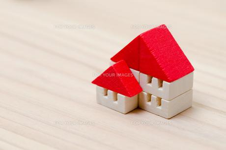 積木の家の写真素材 [FYI00285549]