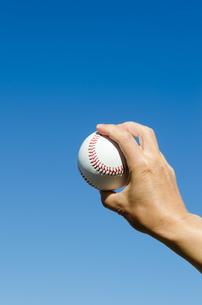 野球のボールの写真素材 [FYI00285550]