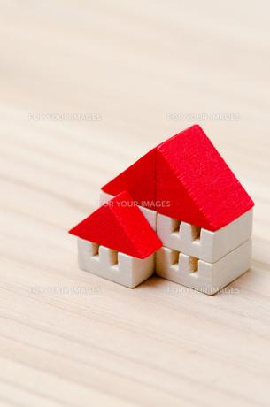 積木の家の写真素材 [FYI00285560]