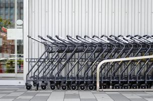 ショッピングカートの写真素材 [FYI00285589]