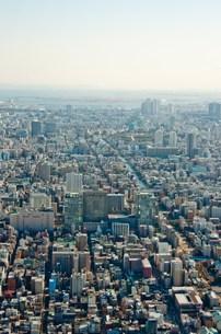 東京スカイツリーからの景観の写真素材 [FYI00285848]