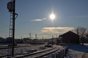 海士有木冬景色の写真素材 [FYI00285912]