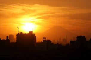 富士 古戦場跡からの眺めの写真素材 [FYI00285942]