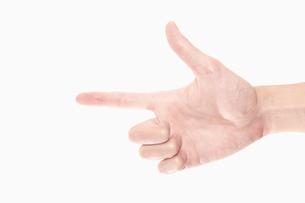 指差しの写真素材 [FYI00287583]