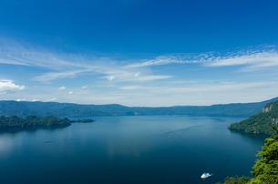 十和田湖 瞰湖台展望台の写真素材 [FYI00287674]