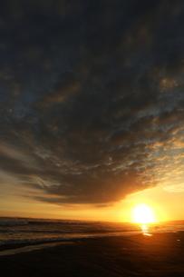 落陽の写真素材 [FYI00287989]