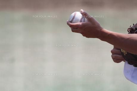 硬式ボールの写真素材 [FYI00289174]