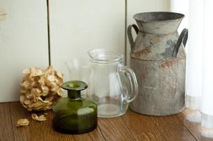 アンティークの花瓶の写真素材 [FYI00289510]
