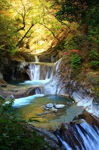 滝 西沢渓谷の写真素材 [FYI00289541]