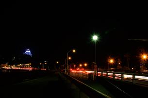 ライトアップ 江ノ島 湘南 神奈川の写真素材 [FYI00289544]