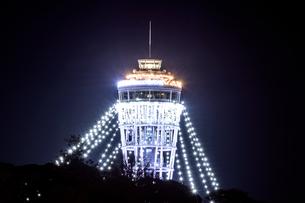 ライトアップ 江ノ島 湘南 神奈川の写真素材 [FYI00289551]