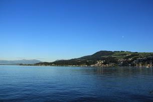 チューリッヒ湖の写真素材 [FYI00289579]