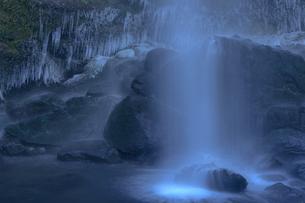 夕日の滝 神奈川の写真素材 [FYI00289589]