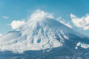 真冬の富士 足柄山よりの写真素材 [FYI00289593]