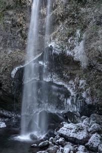夕日の滝 神奈川の写真素材 [FYI00289610]