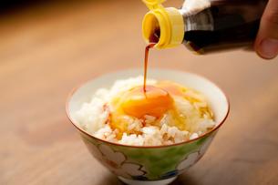 卵かけご飯の写真素材 [FYI00289627]