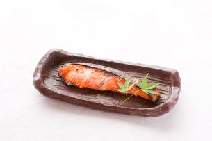 塩麹漬けの焼き魚の写真素材 [FYI00289659]