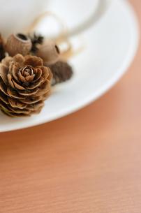 秋から冬のコーヒータイムの写真素材 [FYI00289721]