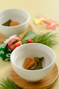 正月の福茶の写真素材 [FYI00289847]