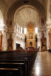 ミュンヘンのMichaelkircheの写真素材 [FYI00289922]