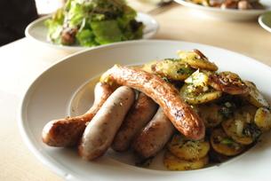 ドイツのソーセージ料理の写真素材 [FYI00289960]