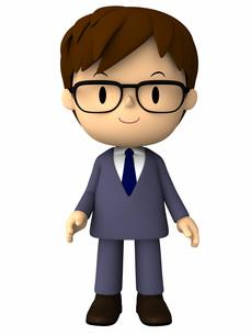 ビジネスマン・立ちポーズの写真素材 [FYI00290011]