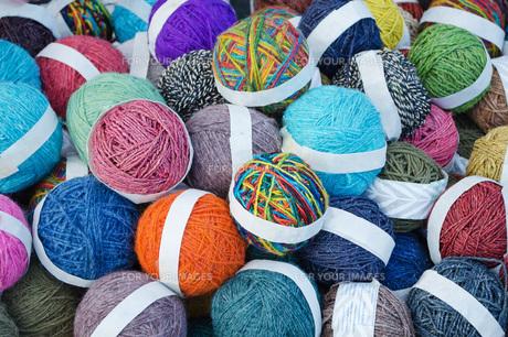 毛糸の写真素材 [FYI00290066]
