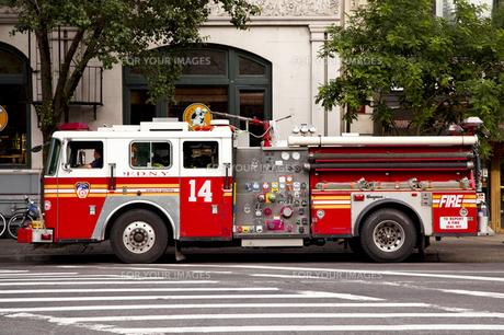消防車の写真素材 [FYI00290096]