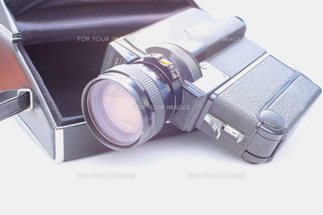 8mmビデオカメラの写真素材 [FYI00290197]
