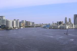東京湾河口の写真素材 [FYI00290702]