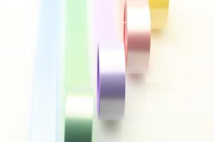 カラフルな粘着テープの写真素材 [FYI00290913]
