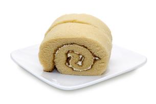 ロールケーキの写真素材 [FYI00291089]
