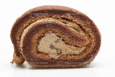 ロールケーキの写真素材 [FYI00291135]