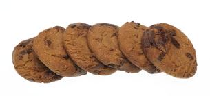 チョコレートチップクッキーの写真素材 [FYI00291179]