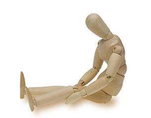 膝の痛みの写真素材 [FYI00291280]