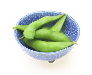 器に入った枝豆の写真素材 [FYI00291505]