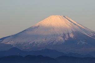 赤富士、富士、霊峰の写真素材 [FYI00297363]