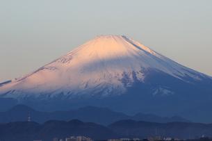赤富士、富士、霊峰の写真素材 [FYI00297373]