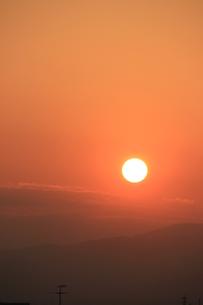 秋筍落日の写真素材 [FYI00297381]