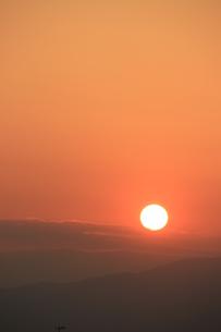 落日の写真素材 [FYI00297390]