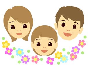 家族の顔の写真素材 [FYI00297652]