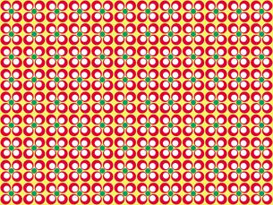 花形のパターンの写真素材 [FYI00297802]
