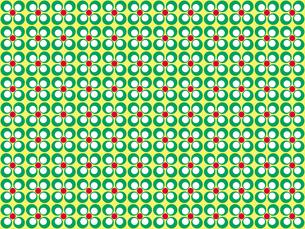 花形のパターンの写真素材 [FYI00297807]