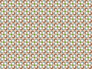 花形のパターンの写真素材 [FYI00297812]