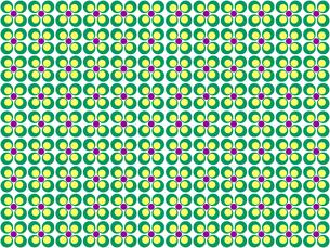 花形のパターンの写真素材 [FYI00297815]