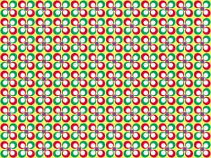 花形のパターンの写真素材 [FYI00297816]