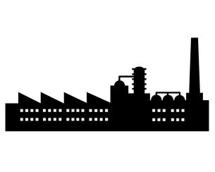 工場のイラストの写真素材 [FYI00297817]