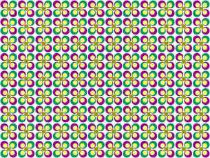 花形のパターンの写真素材 [FYI00297822]