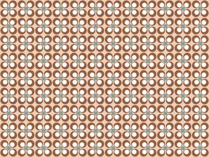 花形のパターンの写真素材 [FYI00297836]